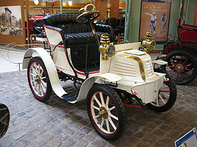 1901 Voiture ancienne Type 36