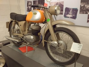 Moto ancienne 1958