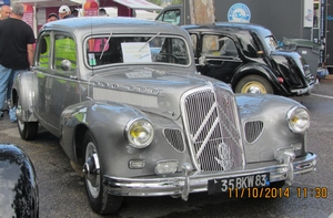 Citroën traction 15 9 pichon parat 1949