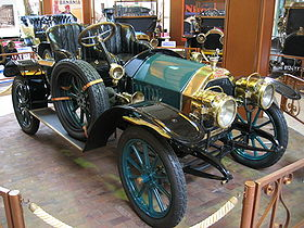 1910 Voiture ancienne Peugeot Type 125