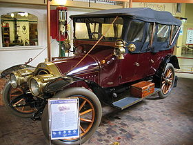 1911 Voiture ancienne Peugeot Type 127 torpedo