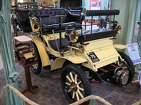 1899 Voiture ancienne Peugeot Type 26