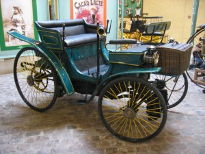 Voiture ancienne Peugeot type 3