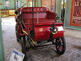 1902 voiture ancienne Peugeot Type 33