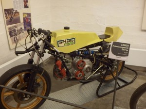 Moto ancienne Arisco 250cc 1977 prototype de competition